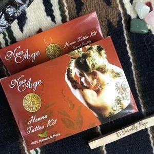 Henna Kit Natural Henna Body Art Henna Tattoo Kit